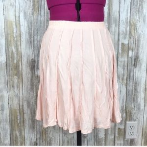 Lauren Conrad Skirt Blush Pink Circle Skater